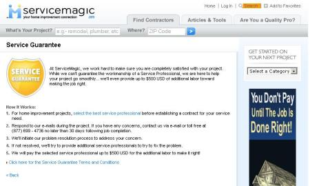 Did Idearc copy ServiceMagic or did ServiceMagic copy Idearc?